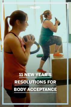 If you're tired of starting January 1 by launching a diet and judging yourself by what you do or don't eat and what the bathroom scale says, consider one of these 11 body acceptance resolutions instead. They'll set you up for a healthier, happier 2021. #newyearnewme #2021 #health #resolutions Health And Nutrition, Health Tips, Health Fitness, Phlem Remedies, Joyous Health, New Year New Me, January 1, Resolutions, Acceptance
