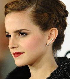 Emma Watson,bijoux d'oreilles, Pinterest, Bijoux, accessoires