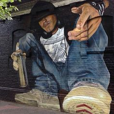 Street Art ‏ minutes ago Very cool Street Art by Diego in Santiago, Chile Best Street Art, 3d Street Art, Amazing Street Art, Street Art Graffiti, Street Artists, 3d Street Painting, Spray Can Art, Different Art Styles, Mural Art