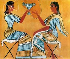 On Crete, however, the Mycenean invasion of around 1400 BC spelled the end of the Minoan civilization.