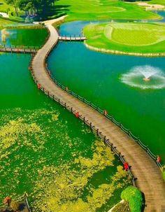from Golf Course in Belek / Antalya Golf elbette belek / Antalya ' da Turkey Vacation, Turkey Travel, Places Around The World, Travel Around The World, Around The Worlds, Places To Travel, Places To See, Travel Destinations, Photos Voyages