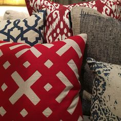 Harvest News - Harvest Furniture - Summer decor for the of July! 4th Of July, Harvest, Throw Pillows, Quilts, Blanket, News, Basement, Projects, Blog