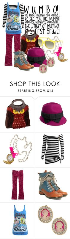 """""""The Wumbo outfit."""" by cmdore ❤ liked on Polyvore featuring Kate Spade, J by Jasper Conran, Miss Selfridge, Panda, Arden B., 77kids, John Fluevog, Wet Seal and Ray-Ban"""