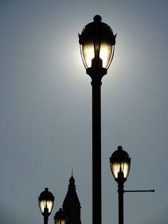 Founders Bridge Lights