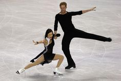 Madison Chock and Evan Bates, Free dance at Skate America 2014,  Ice Dancing inspiration for Sk8 Gr8 Designs