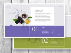 A project for a dried fruits :)