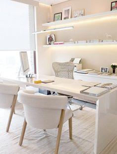 Estes 10 ambientes duas coisas em comum: são todos brancos e são lindos!