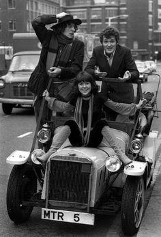 Team TARDIS - Four, Sarah Jane, and Harry