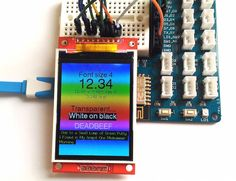 In tutorial 3, we discussed how to use an SSD1306-driven I2C OLED screen with EasyESP-1 for displaying basic text and graphics. We useda 0.96″ (along the diagonal) 128×64 monochrome pixels OLED display for illustration. Despite its small size, the readability was pretty good due to its high contrast, which makes it a very good, compact size display for general applications. The excitement of having a display screen in an ESP8266 project can be further enhanced by upgrading the choice of…