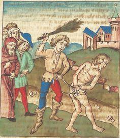 Antonius <von Pforr> Buch der Beispiele — Schwaben, um 1480/1490 Cod. Pal. germ. 85 Folio 32r