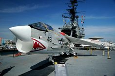 Vought F-8 Crusader USS Midway