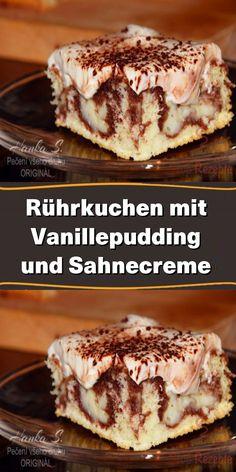 Delicious Cake Recipes, Easy Cake Recipes, Yummy Cakes, Mini Tortillas, Chocolate Cake Recipe Easy, Sponge Cake, Food Cakes, Summer Desserts, Custard