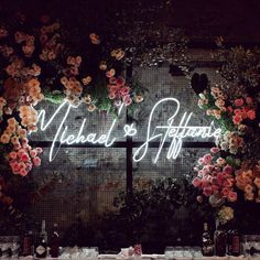Neon wedding signs promise to be one of the top 2019 wedding trends around—and though we expected to hate the movement, we actually really love it. Here, a breakdown of the trend—and 17 ways to get the look. Wedding Trends, Trendy Wedding, Wedding Designs, Dream Wedding, Wedding Ideas, Wedding Weekend, Luxury Wedding, Wedding Blog, Wedding Photos