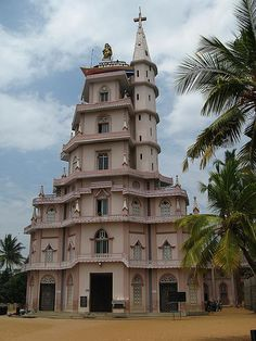 Church in Kovalam, Kerala, India