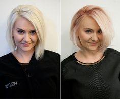 Beauty Bucket List: I Tried Rose Gold Hair Color Beauty Bucket List: Ich habe Rose Gold Haarfa Love Hair, Great Hair, Gorgeous Hair, Awesome Hair, Gold Hair Colors, Hair Affair, Rose Gold Hair, Pastel Hair, Looks Cool