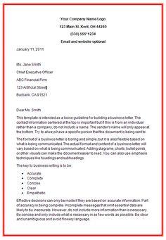 business letter format example with enclosure cover templates http exampleresumecv formal