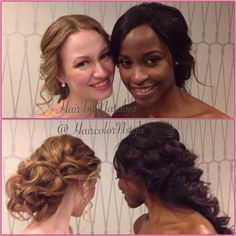 Two of my beautiful models from today Bridal show at beautiful @themayflowerhoteldc !!! Soft romantic updos with hair filler and work hair extensions. Beautiful makeup by @butterflytfdr and @nour.kazoun.artistry #capitalbridalaffair #bridalhair #weddinghair #wedding #bridebook #capitalbridalaffair #bridalshow #hair #makeup #celebrityhairstylist #celebritymakeupartist #hairextesions (at The Mayflower Hotel, Washington, D.C,)