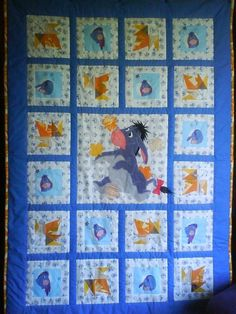 Looking for quilting project inspiration? Check out Eeyore by member Karin Puust. - via @Craftsy