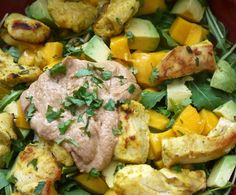 Easy Healthy Dinner Ideas - Paleo Chicken Satay Salad  - Click Pic for 38 Easy Healthy Dinner Recipes