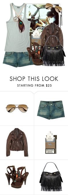 """Youth is like diamonds in the sun, and diamonds are forever."" by cherry95 ❤ liked on Polyvore featuring BOBBY, WWE, Ray-Ban, WeSC, Steve Madden, Tracy Zych, bohemian, heath ledger and boho"