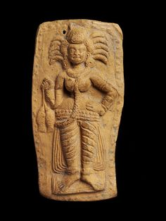centuriespast:    Mother goddess      West Bengal, India (made)      Date:    1st century BC to 1st century AD (made)  The Victoria and Albert Museum