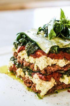 Raw Vegan Dinners, Raw Vegan Recipes, Vegan Dinner Recipes, Vegan Foods, Vegan Dishes, Vegetarian Recipes, Paleo, Healthy Recipes, Vegan Lasagna Recipe