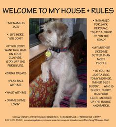Jack's house rules!
