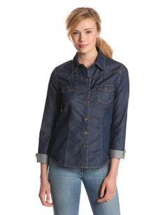 KUT from the Kloth Women`s Chambray Shirt $38.86