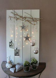 Décoration de Noël à faire soi-même ? Voici 25 idées de comment réaliser des objets de décoration originaux en toute facilité et à un prix mini.