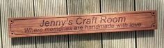 Wooden sign Blackwood laser engraved MyChoice@Firebridge