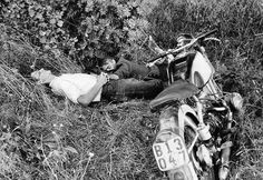 Naptime after a smooth ride. Photo by Eduard Boubat.