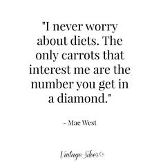 #quote #fashionquote #jewelry #quotes #jewelryquote #etsy #vintagesilverco #fashion #diamond #maewest