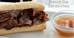 {Crock Pot} French Dip Sandwiches Recipe on Yummly. @yummly #recipe
