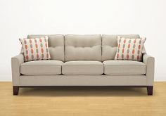 """Rooms To Go - Hadly Sofa (comes in """"sand"""" and charcoal)"""