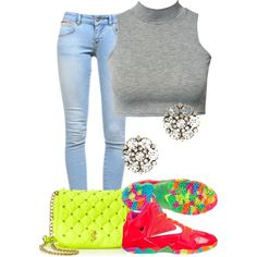 """""""Simple !"""" by morganlovessyouuu on Polyvore"""