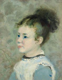 Pierre-Auguste Renoir - Portrait de Jeanne Sisley (1875)