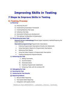 Best selenium testing training institute in Chennai Acting Resume Template, Sample Resume Templates, Job Resume Samples, Manual Testing, Software Testing, French Language Learning, Learning Spanish, Teaching English, Information Technology