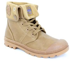 Chaussure montante camel