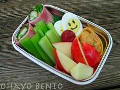 Breadless ham sandwich bento from ohayobento.com