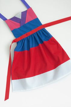 Disney Mulan dress up apron for toddlers and by SimplyRoyalDress