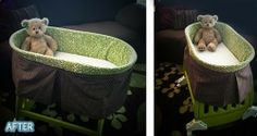 Better After: Kid-a-palooza  DIY before and after bassinet, other children's items