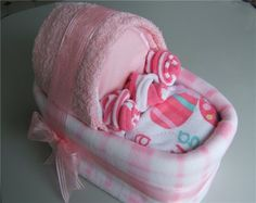 cradle cake for baby shower
