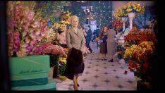 Kim Novak at the flower shop, Vertigo.