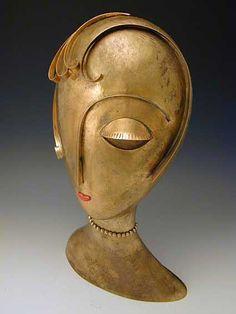 Franz Hagenauer, Bronze Head Art Nouveau, Art Deco Stil, Art Deco Furniture, Art Deco Design, Art Deco Fashion, Metal Art, Sculpture Art, Modern Art, Art Photography