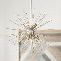 Beautiful Home Decor, Beautifully Priced Rectangle Chandelier, 3 Light Chandelier, Sputnik Chandelier, Chandelier Shades, Chandeliers, Metal Spikes, Wagon Wheel Chandelier, Lantern Pendant, Pendant Lights