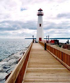 Huron Boardwalk, St. Ignace, MI
