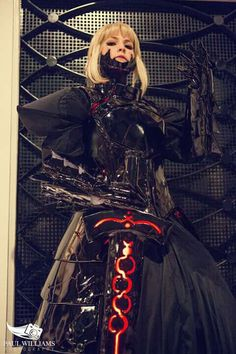 Cosplay-Saber alter from the fate(stay night serie )