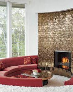 Furniture Design - Using Golden Tones