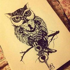 awesome looking owl !!!another good tatoo idea for me ..sigh ...that would be two more instead of one more
