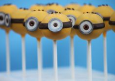 Cake pops can still look like the cute characters we all love without all the work!! I think that as long as your little one can recognize the character you made, then...SUCCESS! I made these Sim...